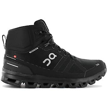 ON Running Cloudrock Waterproof - Men's Hiking Shoes Black 23.99854 Sneakers Sports Shoes