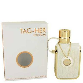 Armaf Tag Her By Armaf Eau De Parfum Spray 3.4 Oz (women) V728-535916