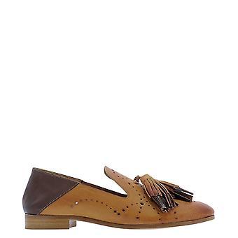 Guglielmo Rotta 4318ocariocabrandy Women's Brown Leather Loafers