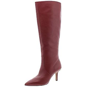 Michael Michael Kors Womens Katerina Leather Tall Dress Boots