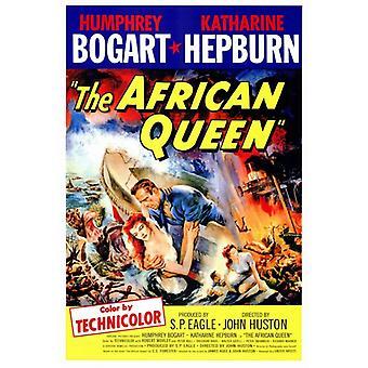 Afrikan kuningatar elokuvan juliste tulosta (27 x 40)