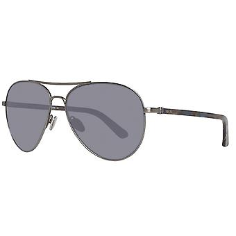 Calvin Klein Gunmetal Men Sunglasses