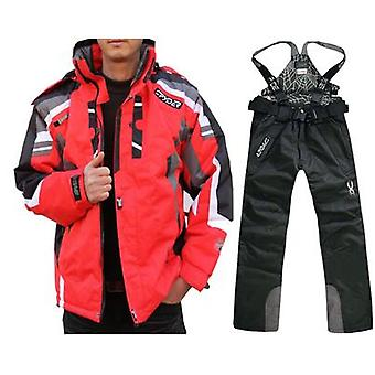 Waterproof Snow Skiing Jacket-pant Suit Set
