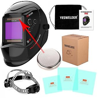 Large Screen True Color Welding Helmet, Mask,  Hood
