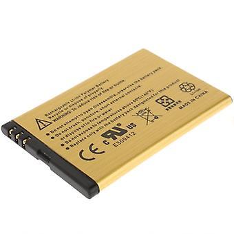 2450mAh BP-3L High Capacity Gold Business Battery pour Nokia 603 / 710 (Golden)