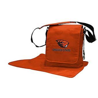 Oregon State Beavers NCAA LilFan Diaper Messenger Bag