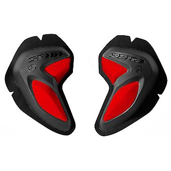 Spidi GB Safety Lab Kit BI-Phase Sliders Black Red Pair