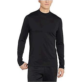 Brand - Peak Velocity Men's Thermal Long Sleeve Mock Neck Athletic-Fit Top