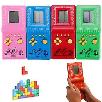 Retro Classic Childhood Tetris Players, Lcd Kids, Game Console, Riddle Learning