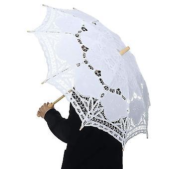 Cotton Embroidery   Umbrella