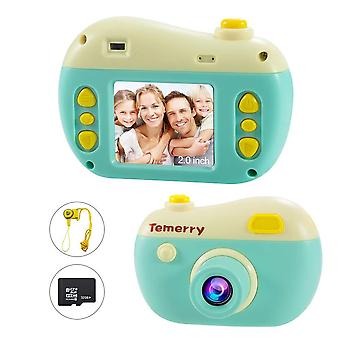 Byttron kids camera, 2 inch ips children digital cameras, 8mp photo/video camcorder, with 32g mirco