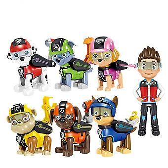 Rescue Dog Toy-Ryder Everest Tracker, Anime Action Figur Model, Cake