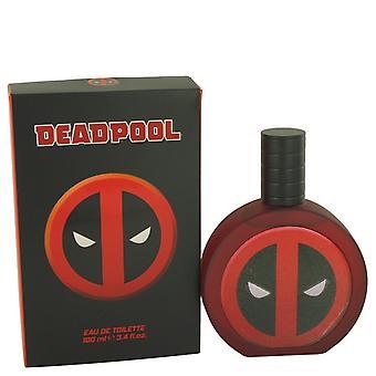 Deadpool by Marvel Eau de Toilette Spray 3,4 oz/100 ml (miehet)