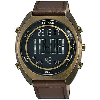 Mens Watch Pulsar P5A030X1, Quartzo, 45mm, 10ATM