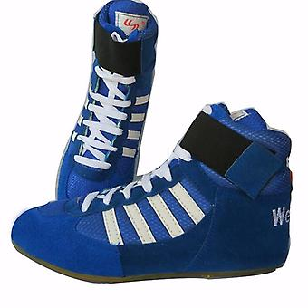 Authentic Verisign Wrestling Shoes Training Tendon At The End Leather Sneakers