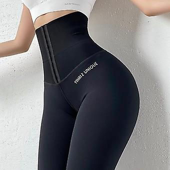 Yoga Dehnbar Sport Leggings hohe Taille Kompression Strumpfhosen Frauen Gym Leggings