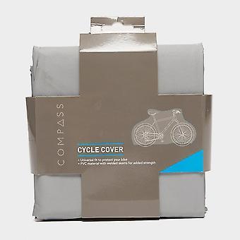 New Compass Waterproof Bike Cover Grey