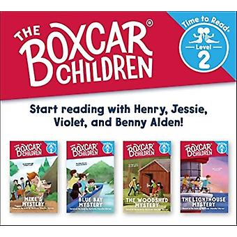 The Boxcar Children Early Reader Set 2 the Boxcar Children Time to Read Level 2 by Created by Gertrude Chandler Warner & Illustrated by Shane Clester
