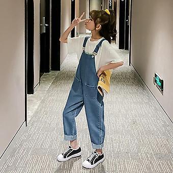 Denim Jumpsuit For, Jeans, Teens Teenagers Baby Overalls Rompers