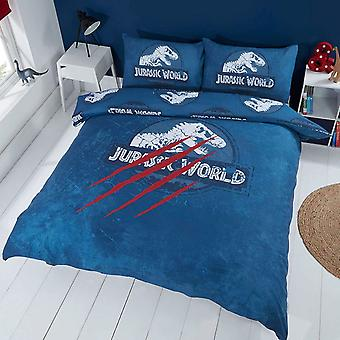 Jurassic World Claws Double Duvet Cover Set