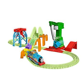 Thomas friends trackmaster hyper glow night delivery playset ggl75, thomas the tank engine frien