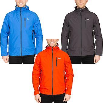 Trespass Mens Rakenfard Outdoor Walking Hiking Waterproof Hooded Jacket Coat