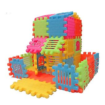 44pcs Puzzle Fun 3d Stereoscopic Assembly Of Building Block