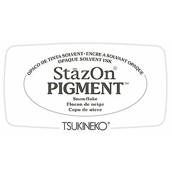 Stazon Pigment Muste pad lumihiutale