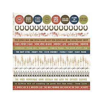 Kaisercraft - Old Mac Sticker Sheet