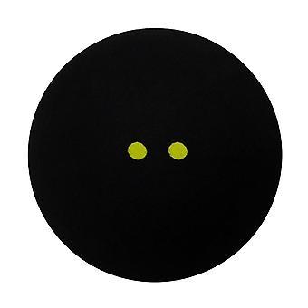 1pcs squash ball dos puntos amarillos de baja velocidad deportes pelotas de goma profesional