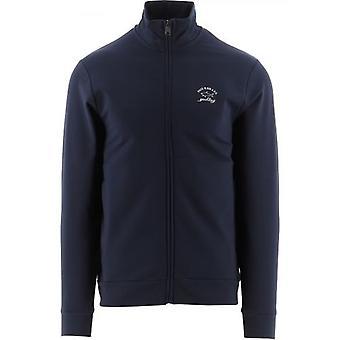 Paul & Shark Blue Knitted Logo Jumper
