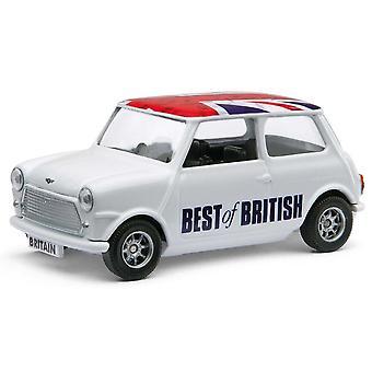 Mini Cooper met Union Jack dak Diecast Model auto