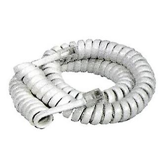 Ivory Handset Curly Cord
