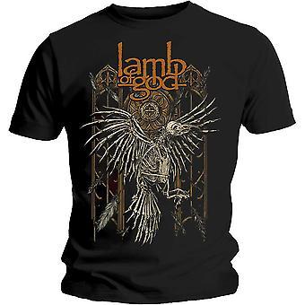 Agnello di Dio - Crow Unisex XX-Large T-Shirt - Nero
