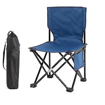 Blue 60x34.5x34.5cm outdoor leisure folding chair homi3779