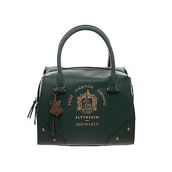 Harry Potter Slytherin Luxus Karo Top Handtasche