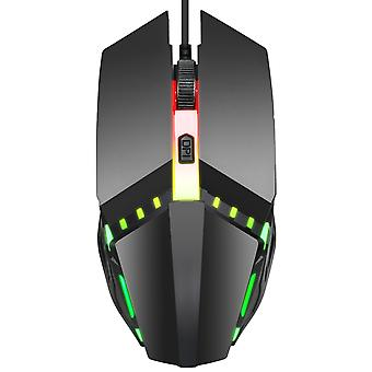 Colorful Glowing Gaming Wired Mouse