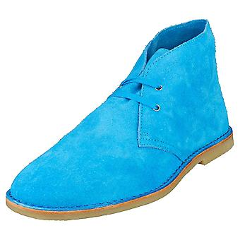 Paul Smith Norman Mens Chukka Boots in Blue
