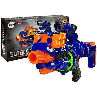 Leksaker BB pistol halvautomatisk + 12 skumkulor - 3 tidskrifter
