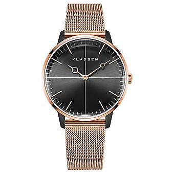 Klasse14 Disco Volante Rose Gold Black Mesh 36mm WDI19RB001W Watch