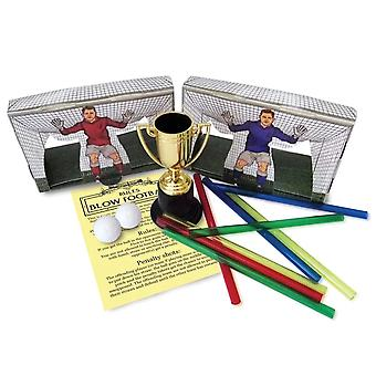 Boxeado mesa-top juego de blow football regalo para los niños