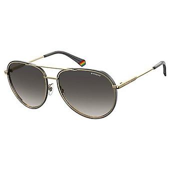 Polaroid Pilot Sunglasses - Black/Gold