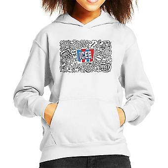 ICEE Fun Kid's Hooded Sweatshirt