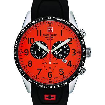 Herre Watch Schweiziske Alpine Militær 7082.9839, Kvarts, 45mm, 10ATM