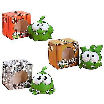 Novos brinquedos de decoração de móveis de boneca de desenho animado Mung Bean Frog (Set1)