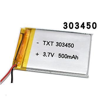 Polymeer batterij voor afstandsbediening / camera / licht / hoofdtelefoon luidspreker