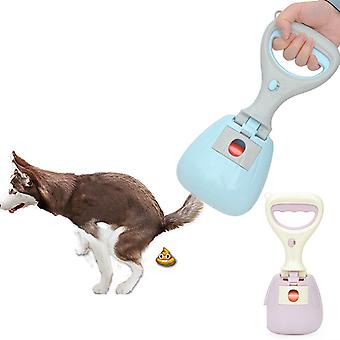 Lightweight Convenient Pet Dog Pooper Scoop Shovel Cleaning Pick Up Animal Feces Cat Feces Picker Outdoor Cleaning Tools