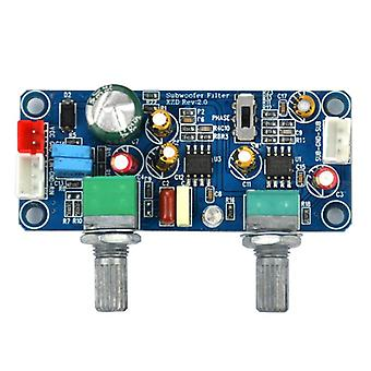 Low Pass Filter Bass Subwoofer Single Power Dc 9-32v Pre-amp Amplifier Board