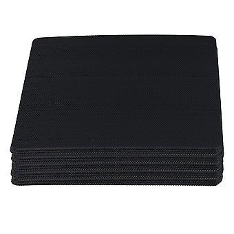 Electronic filters 50pcs black computer case fan dustproof dust filter fits standard 120mm fans
