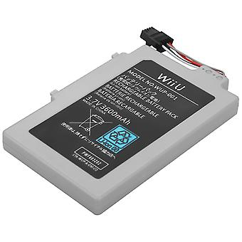 3600 Mah Replacement Rechargeable Battery Wii U Gamepad For Nintendo
